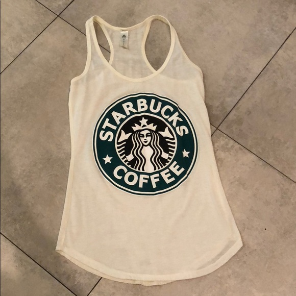 Starbucks Logo Tank Top Like New Small Medium